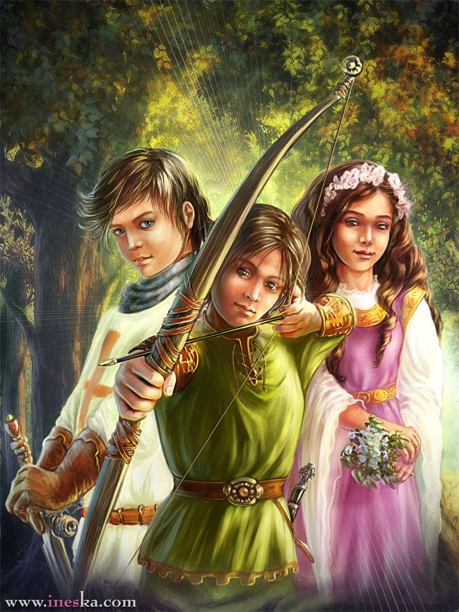 Робин Гуд в детстве