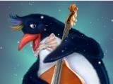 Пингвин контрабас
