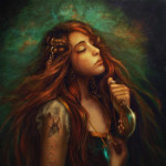 Не в силах вынести потерю своего любимого, ведьма совершает ритуальное самоубийство и произносит заклятие